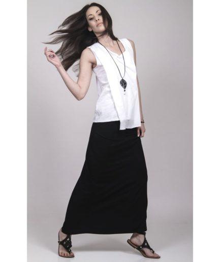long viscose skirt