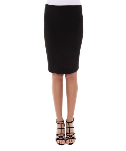 pencil jersey skirt