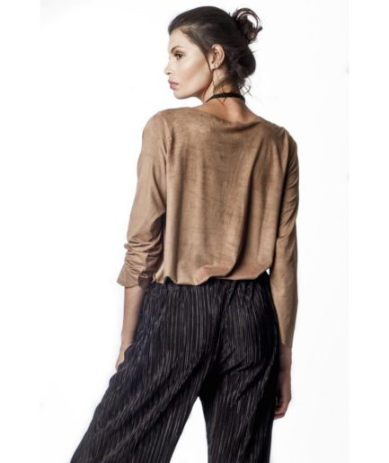 black and white wide pants