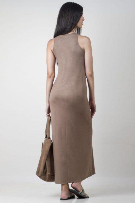 long rib dress