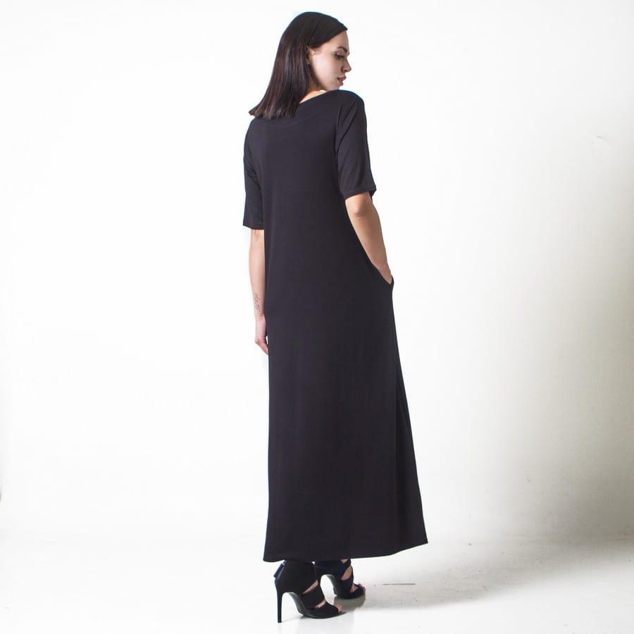 b6735b395127 Φαρδύ μακρύ φόρεμα - Γυναικεία Ρούχα - Φορέματα - Xanashop