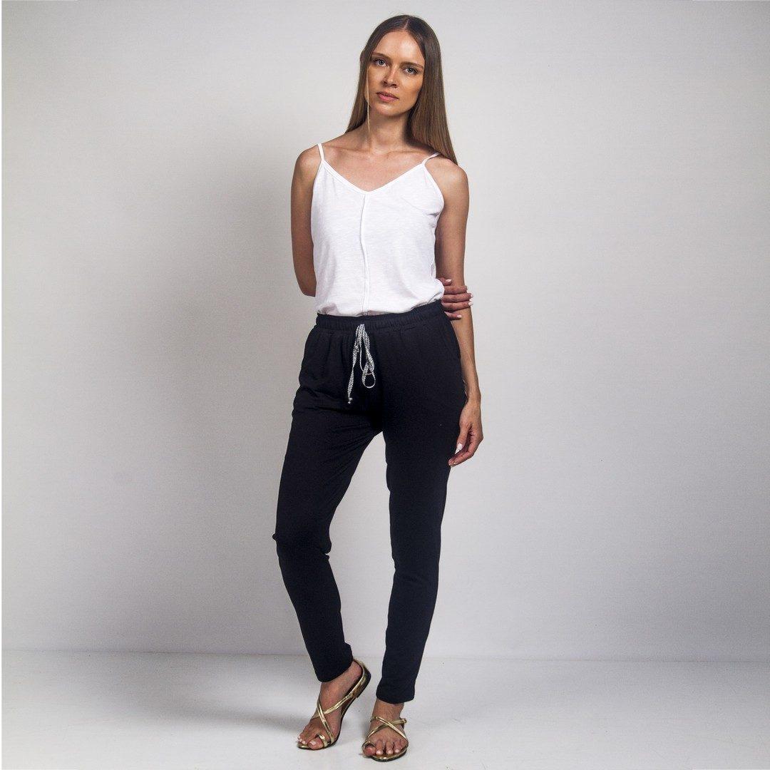 080baf181efa Στενό ελαστικό παντελόνι - Γυναικεία Ρούχα - Φορέματα - Xanashop