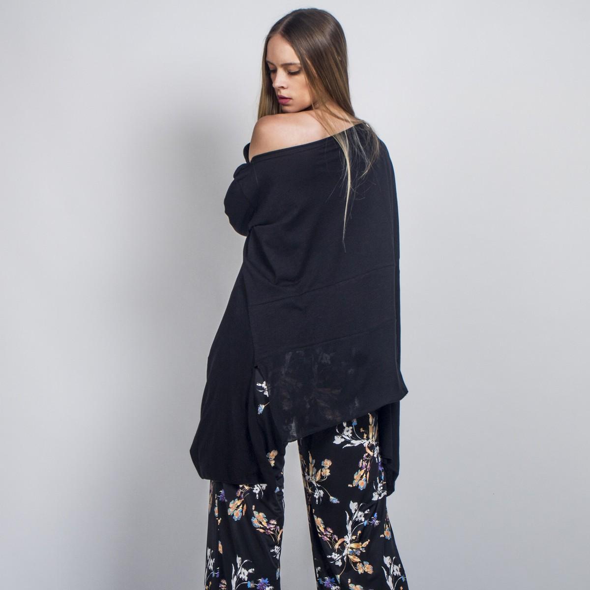 f8b7379c8af3 Φαρδιά ασύμμετρη μπλούζα με τσέπες - Γυναικεία Ρούχα - Φορέματα ...
