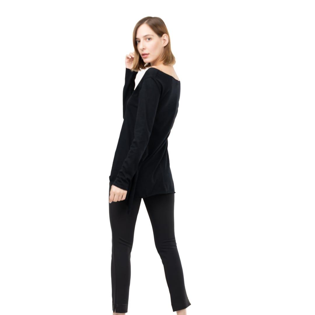 89fc466047fb Μεσάτη μακριά βαμβακερή μπλούζα - Γυναικεία Ρούχα - Φορέματα - Xanashop