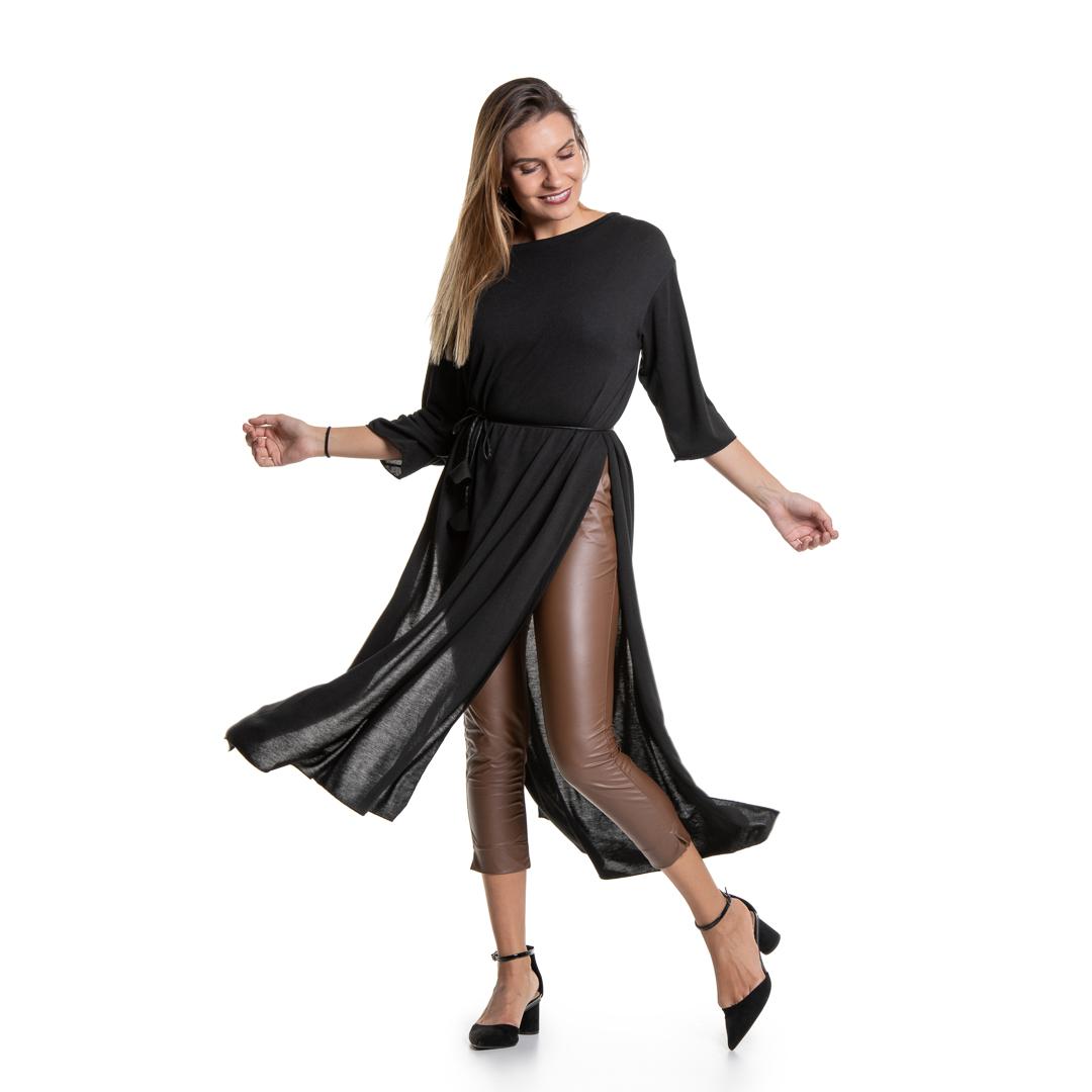 036717322206 Τυνίκ μάξι με σκισίματα - Γυναικεία Ρούχα - Φορέματα - Xanashop