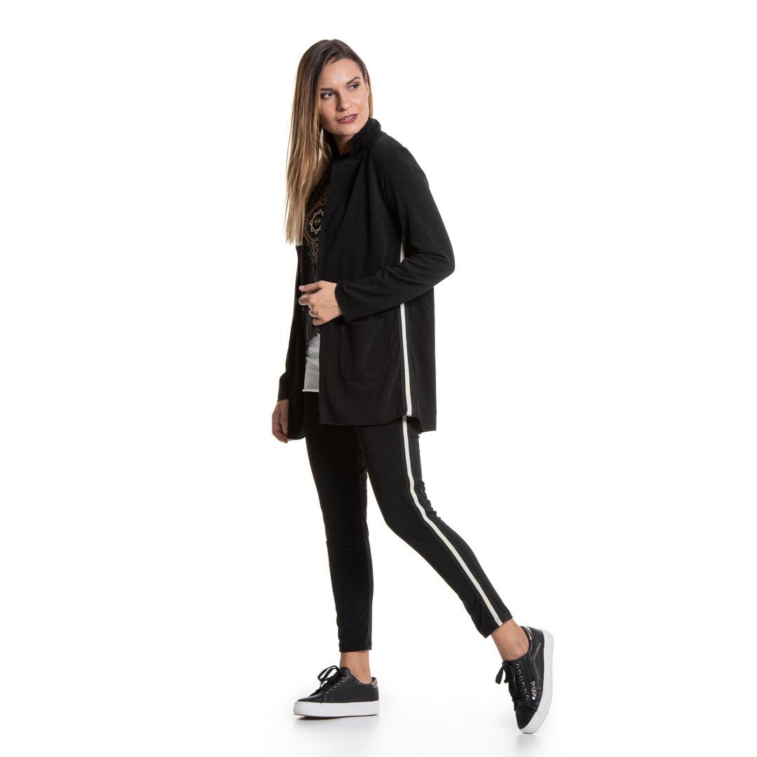 eb77454744ce Σακάκι με πλαϊνή αθλητική ρίγα - Γυναικεία Ρούχα - Φορέματα - Xanashop