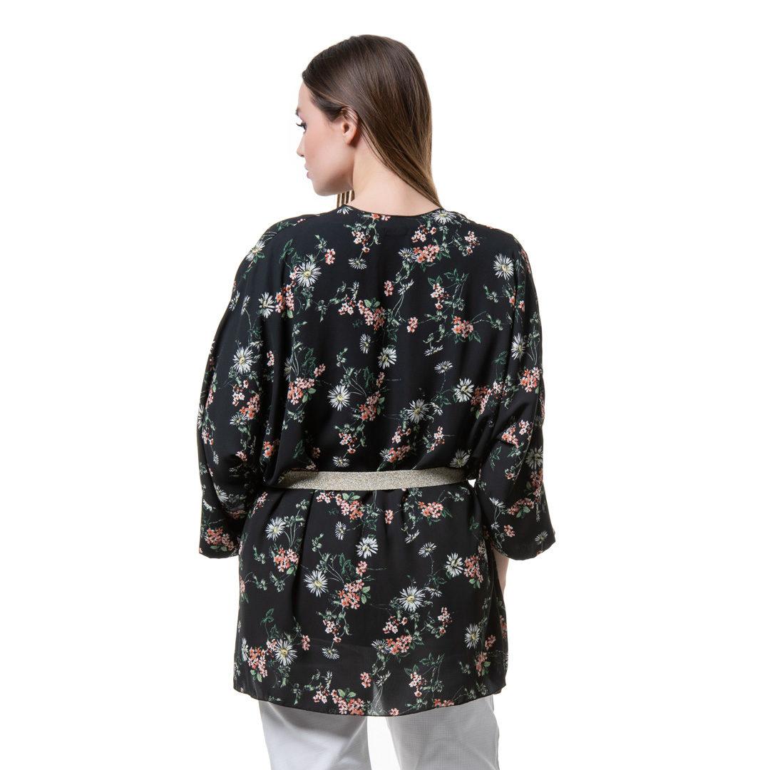 1b90ea232 ... Clothes » Kimono » Black floral kimono. 28% OFF. prev