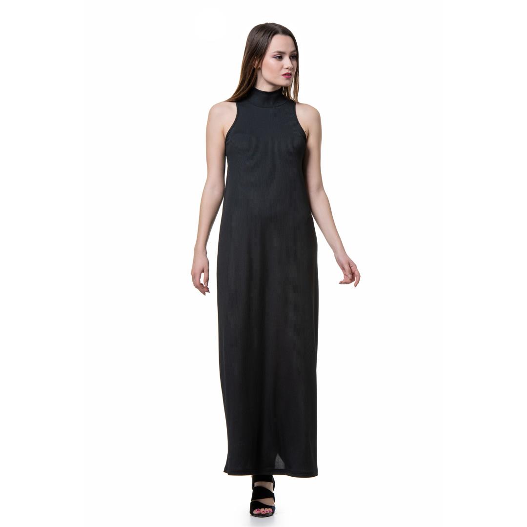 b637b5860af4 Ριμπ αμάνικο ζιβάγκο φόρεμα - Γυναικεία Ρούχα - Φορέματα - Xanashop