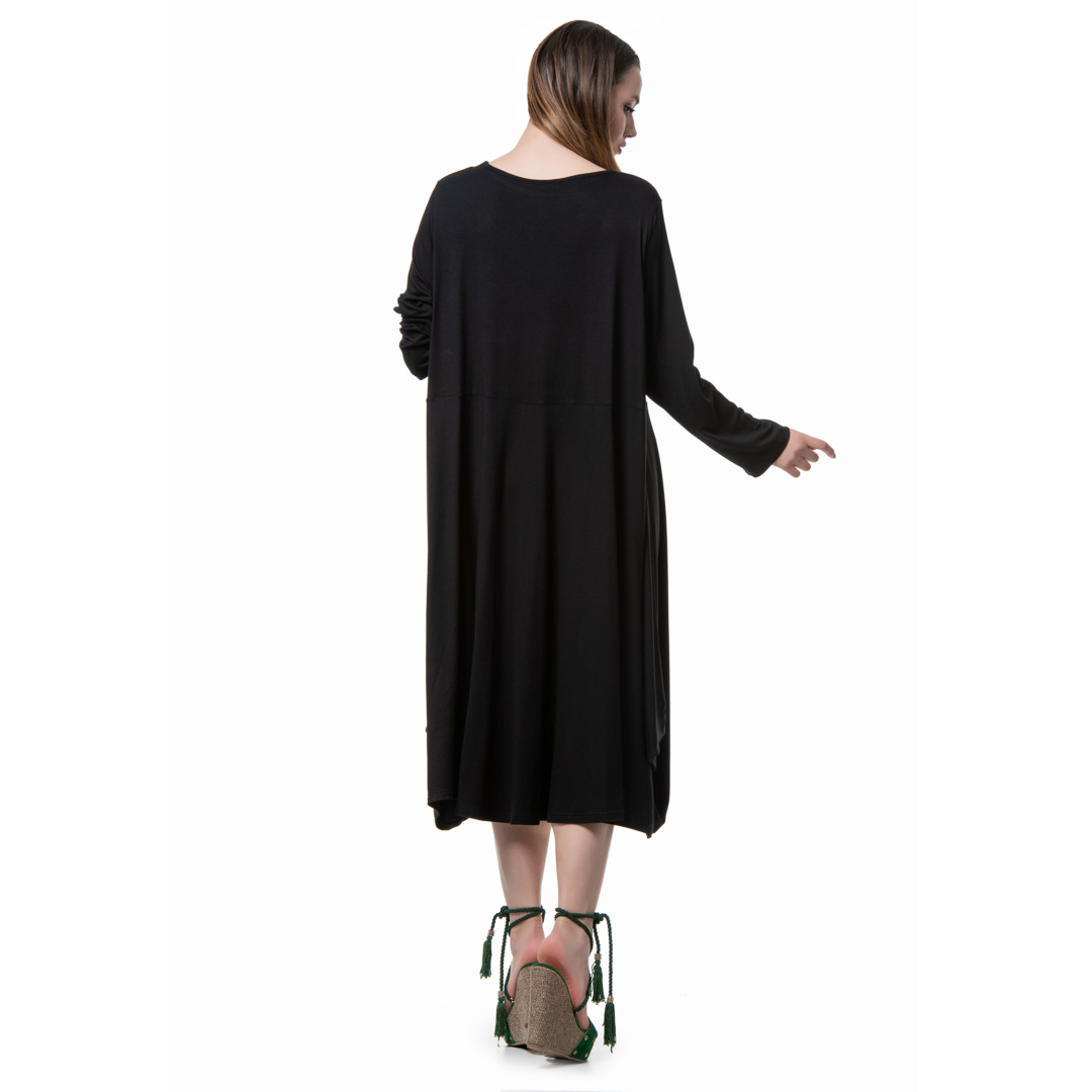 d6e47c332c1f Oversized ζέρσευ ασύμμετρο φόρεμα - Γυναικεία Ρούχα - Φορέματα ...