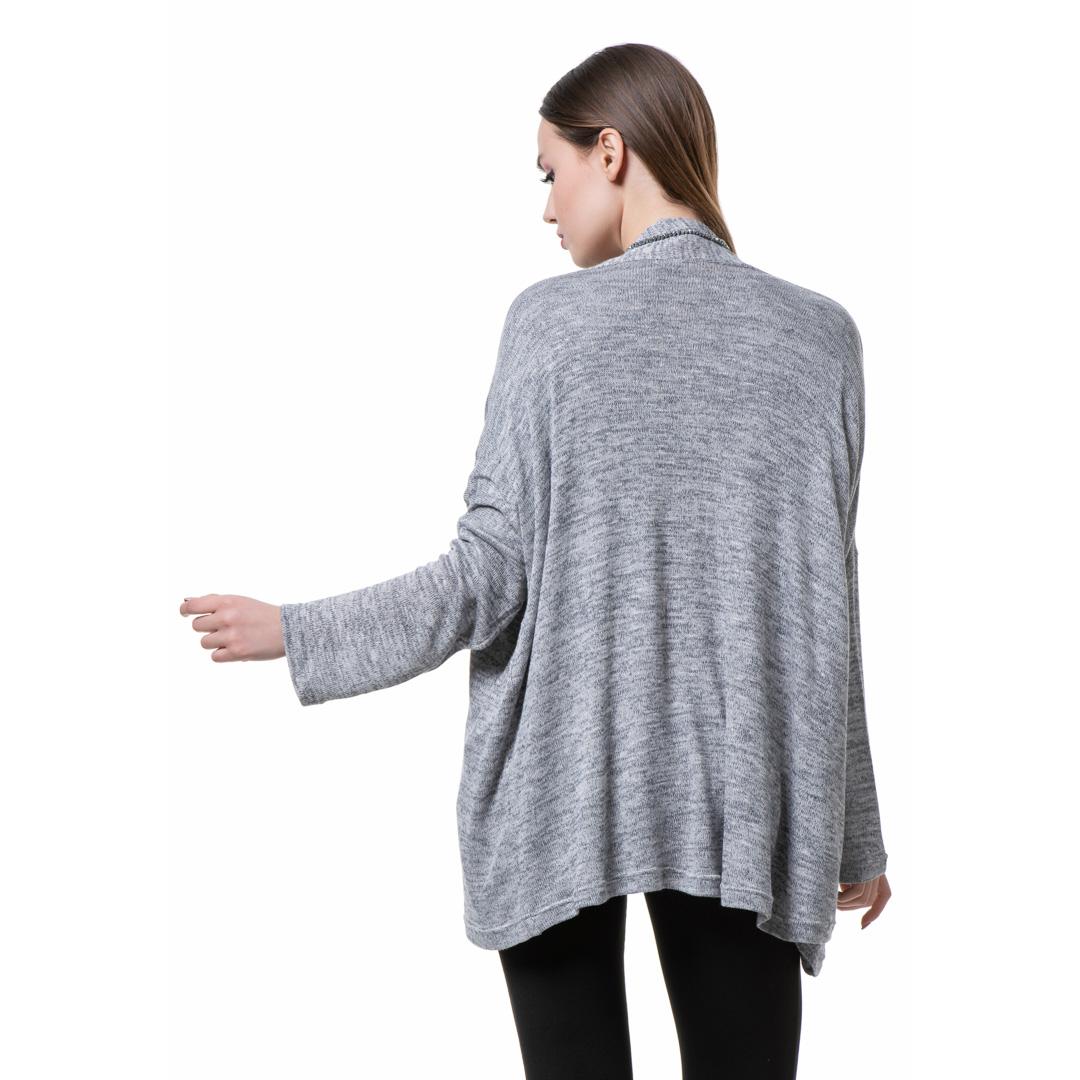 4e9f6a7cb651 Oversized πλεκτό twin set μπλούζα και ζακέτα - Γυναικεία Ρούχα ...